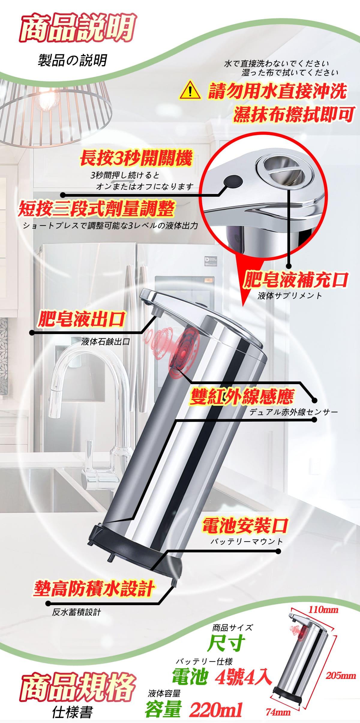 智能自動給皂機