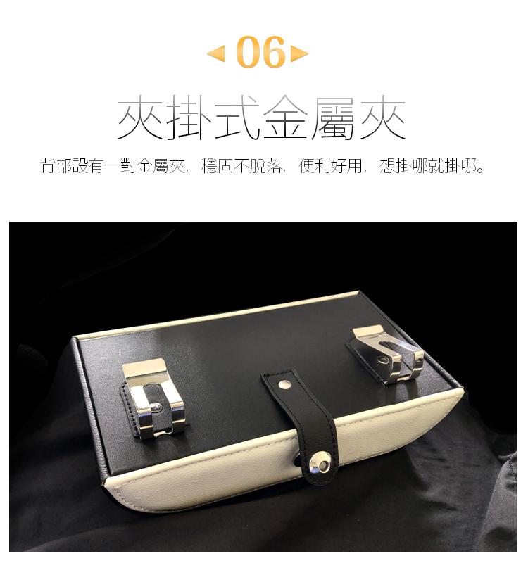 【輕奢時尚面紙盒】高質感荔枝紋皮革